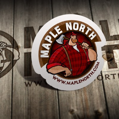 Maple North logo