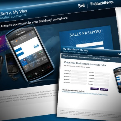 BlackBerry Sales Passport Website