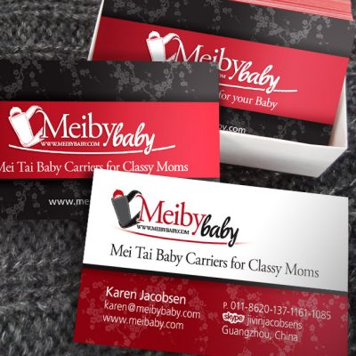 Meiby Baby Business Cards