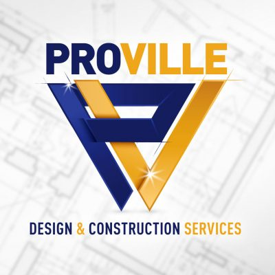 Proville Design & Construction Services Logo