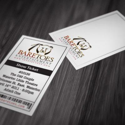 TenBareToes: Show Tickets