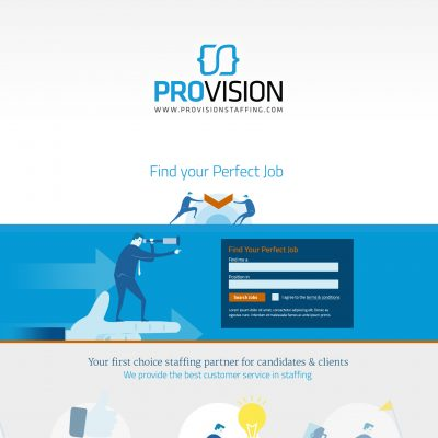ProVision Staffing Website
